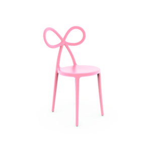 Ribbon Chair Pink