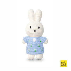 a.pastels - miffy handmade and her pastel blue tulipdress (EAN 871 932 438 1970)