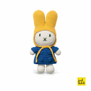 plaincolors - miffy handmade and her blue coat + yellow hat (EAN-871 932 700 0052