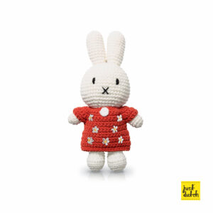flowers - miffy handmade and her red flowerdress (EAN-710 142 137 6088)
