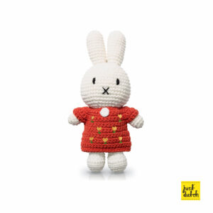 tulips - miffy handmade and her red tulipdress (EAN-710 142 897 2412)