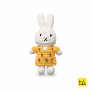 tulips - miffy handmade and her yellow tulipdress (EAN-710 142 894 9117)